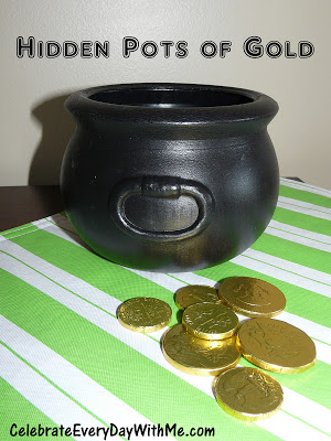 hidden pots of gold to celebrate st. patrick's day