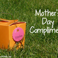 Exchanging Mother's Day Compliments