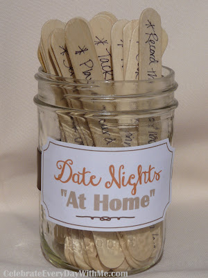 """30 Ideas for Date Nights """"At Home"""""""
