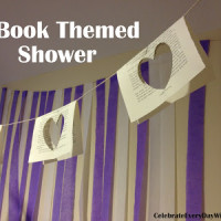 A Book-Themed Shower