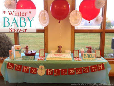Baby Blizzard: A Winter Baby Shower