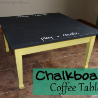 Create a Chalkboard Table