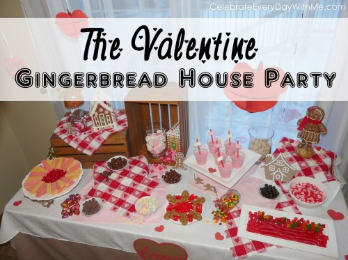 Valentine Gingerbread Party