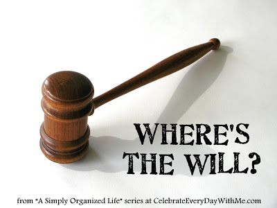 where is the will.organized life series