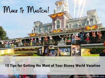 10 Tips for Best Disney World Vacation