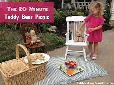 The 20 minute teddy bear picnic