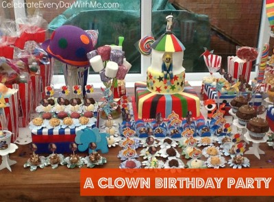clown birthday party