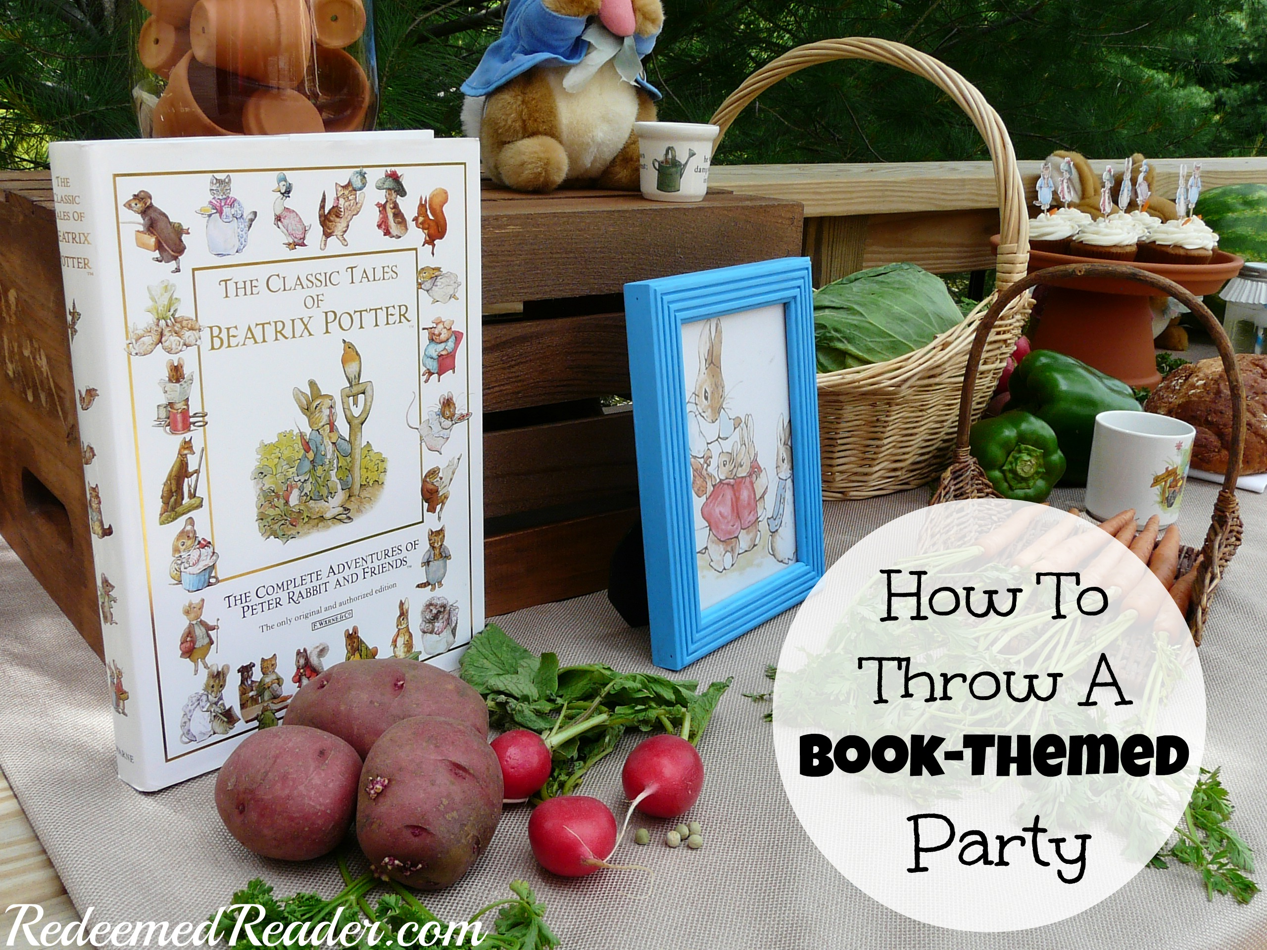 How to Throw a Book-Themed Party