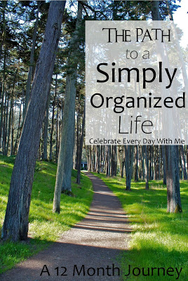 Simply Organized Life 12 Month Journey