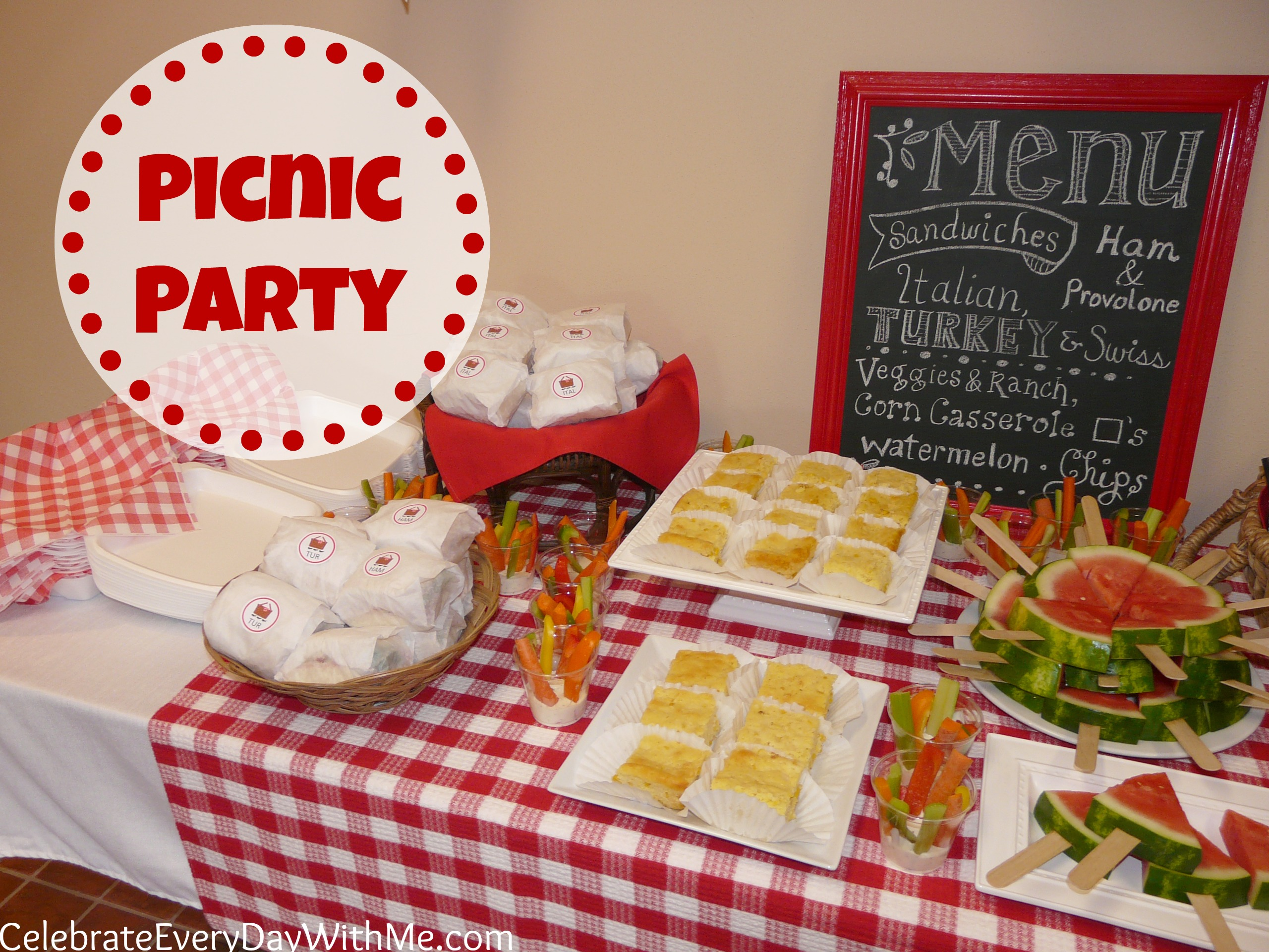 That I Think Have Found My Favorite Party Theme Ever PICNIC