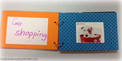 gift card booklet.teacher gift 2