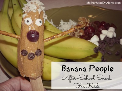 Banana People.After School Snack for Kids 2