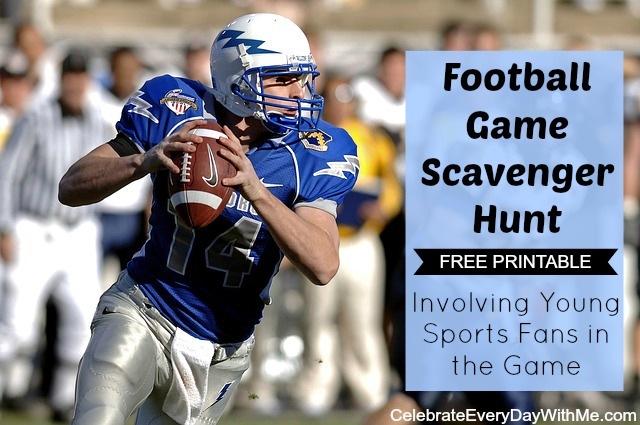 football game scavenger hunt