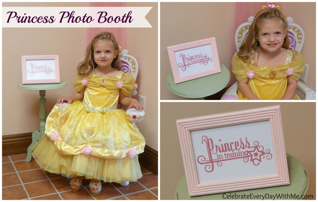 Princess Photo Booth 2