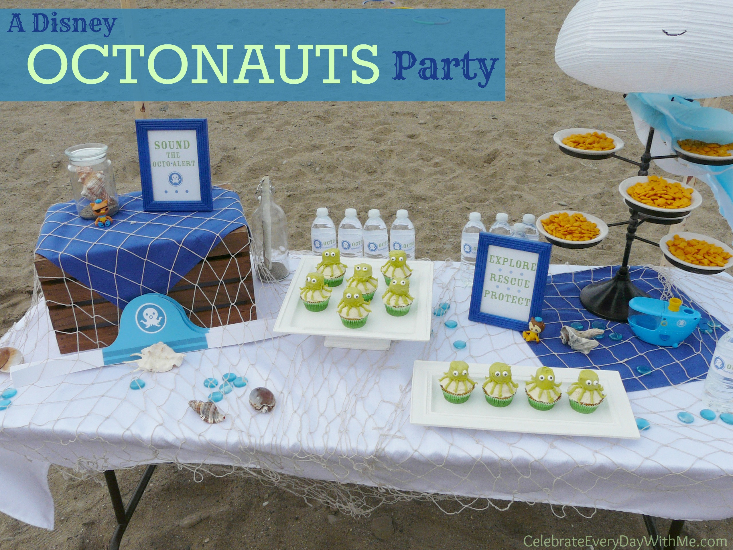 A Disney Octonauts Party