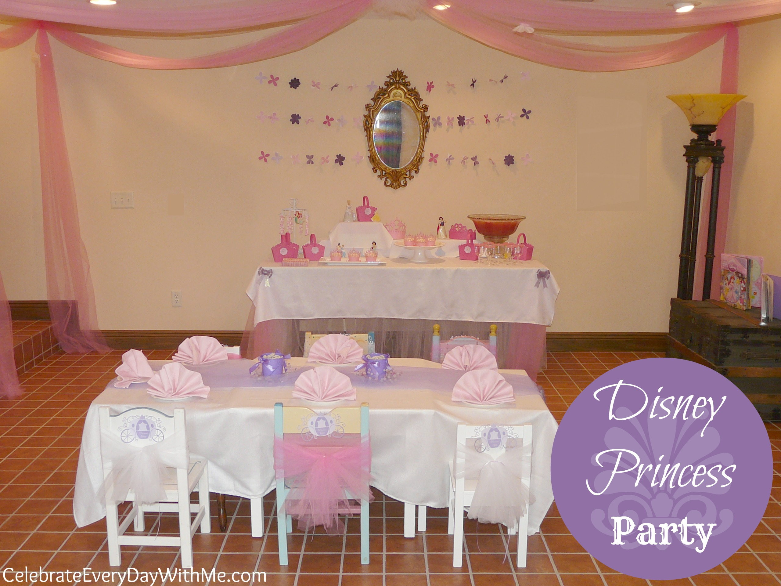 Disney Princess Party {Part One}