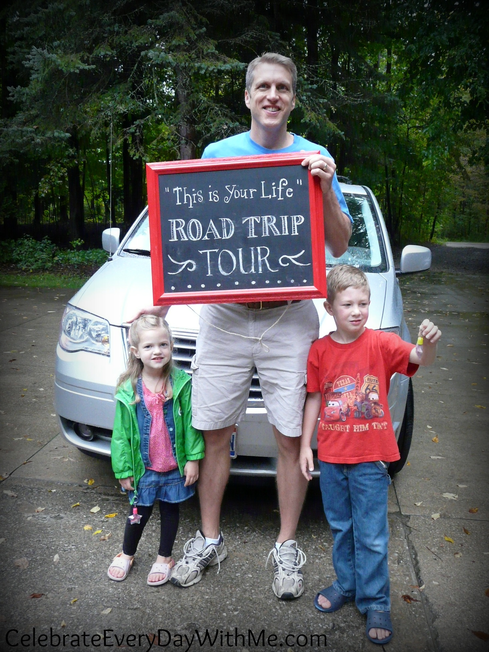 """This is Your Life"" Road Trip Tour:  a 40th Birthday Celebration"