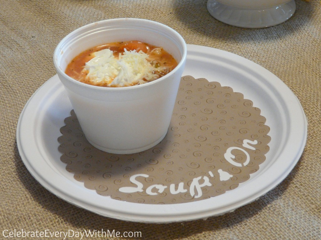 soup party plate