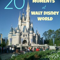 20 Not-To-Miss Moments at Walt Disney World