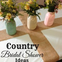 Country Bridal Shower Ideas