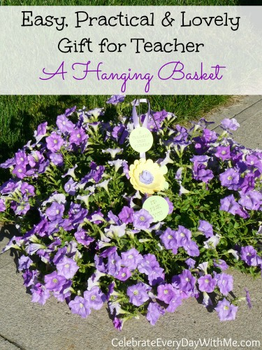 easy, practical & lovely gift for teacher