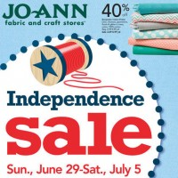 Save at JoAnn's Independence Sale
