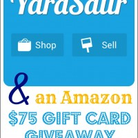 The YardSailr App & an Amazon $75 Giveaway