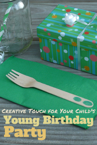 Creative Touch for Your Child's Young Birthday Party
