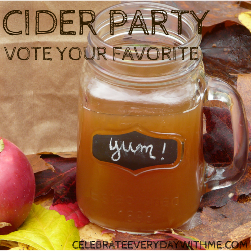 Cider Party - Vote Your Favorite