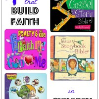 Gifts that Build Faith in Children