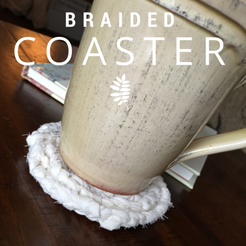 Braided Coaster