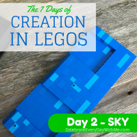 The 7 Days of Creation in Legos {Day 2 – Sky}