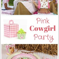 Pink Cowgirl Party from Birthday Express