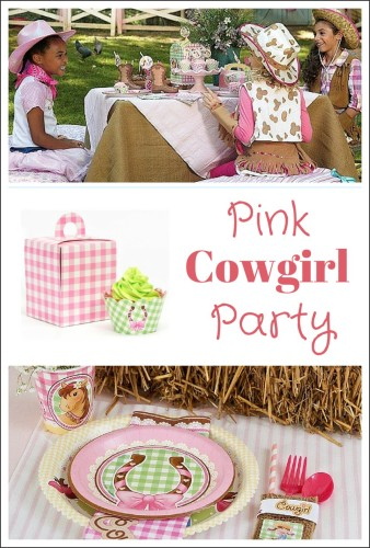 Pink Cowgirl Party