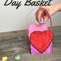 Valentine's Day Basket with Free Printable