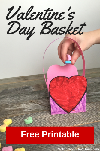 Valentine's Day Basket Printable