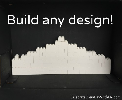 build any design in legos