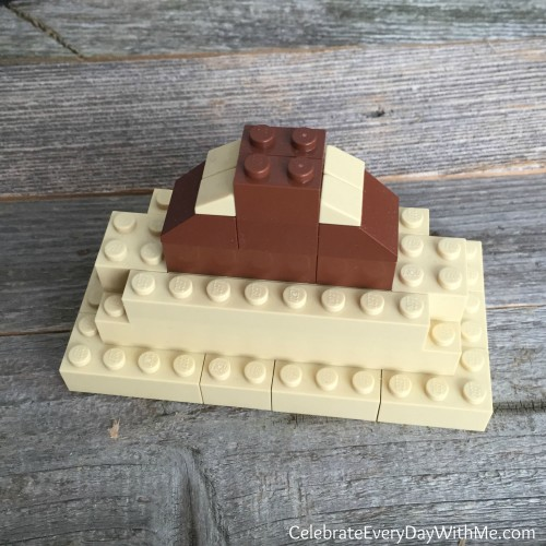 lego mountain for creation series