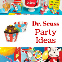 A Dr. Seuss Party Ideas from Birthday Express
