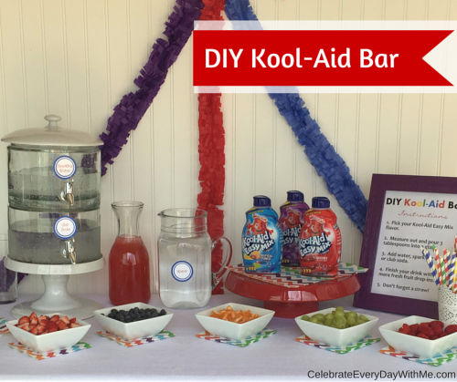 DIY Kool-Aid Easy Mix Bar - Great for a Party or Casual Gathering (1)