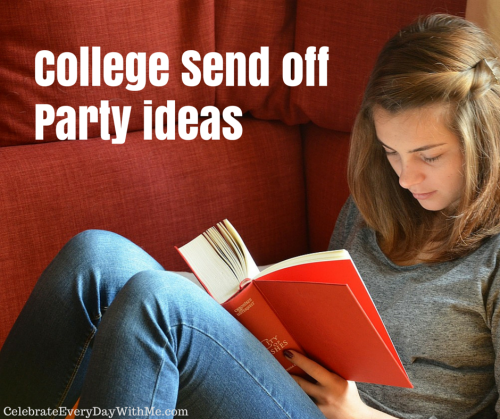 college send off party ideas -