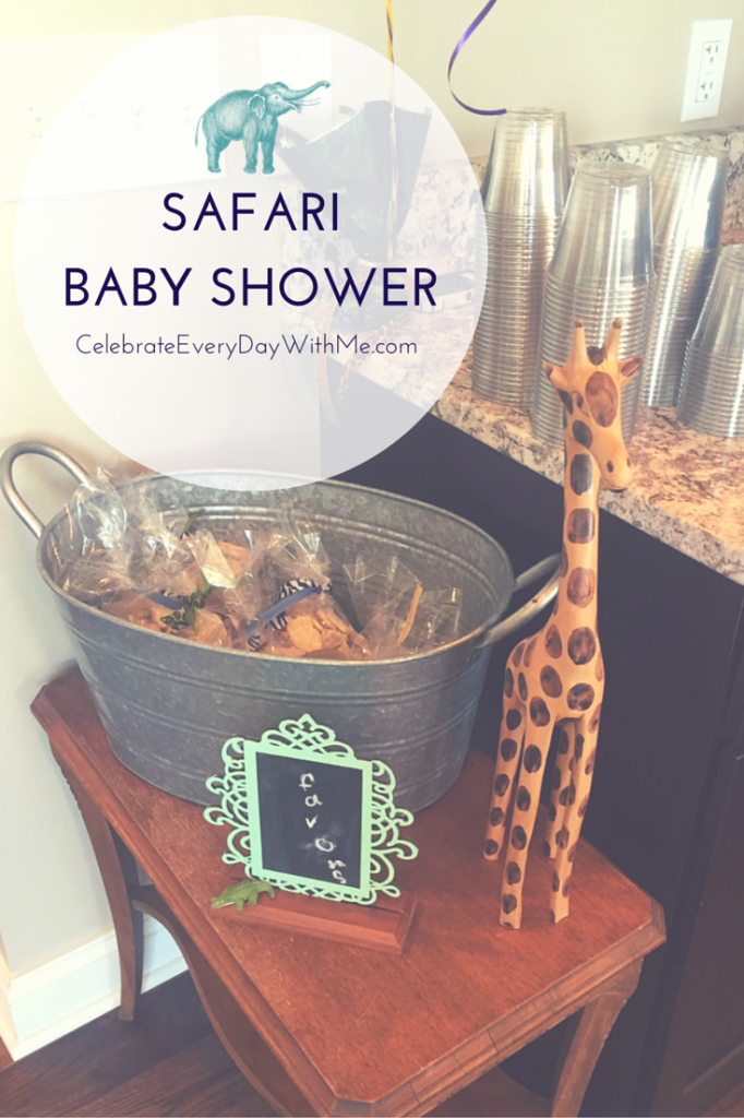 Safari Themed Baby Shower