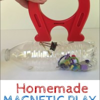 Homemade Magnetic Play Bottle