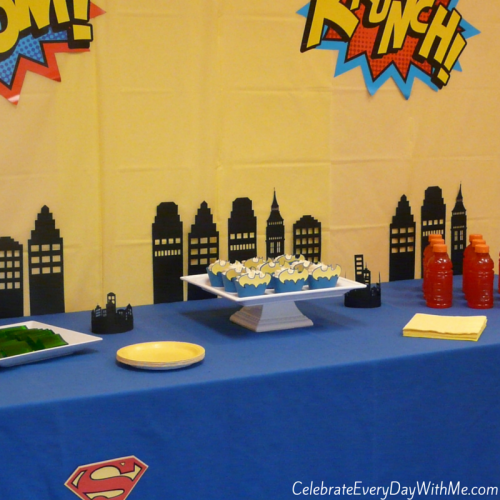 Super Hero Party 15