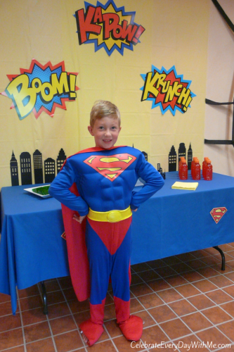 Super Hero Party 17
