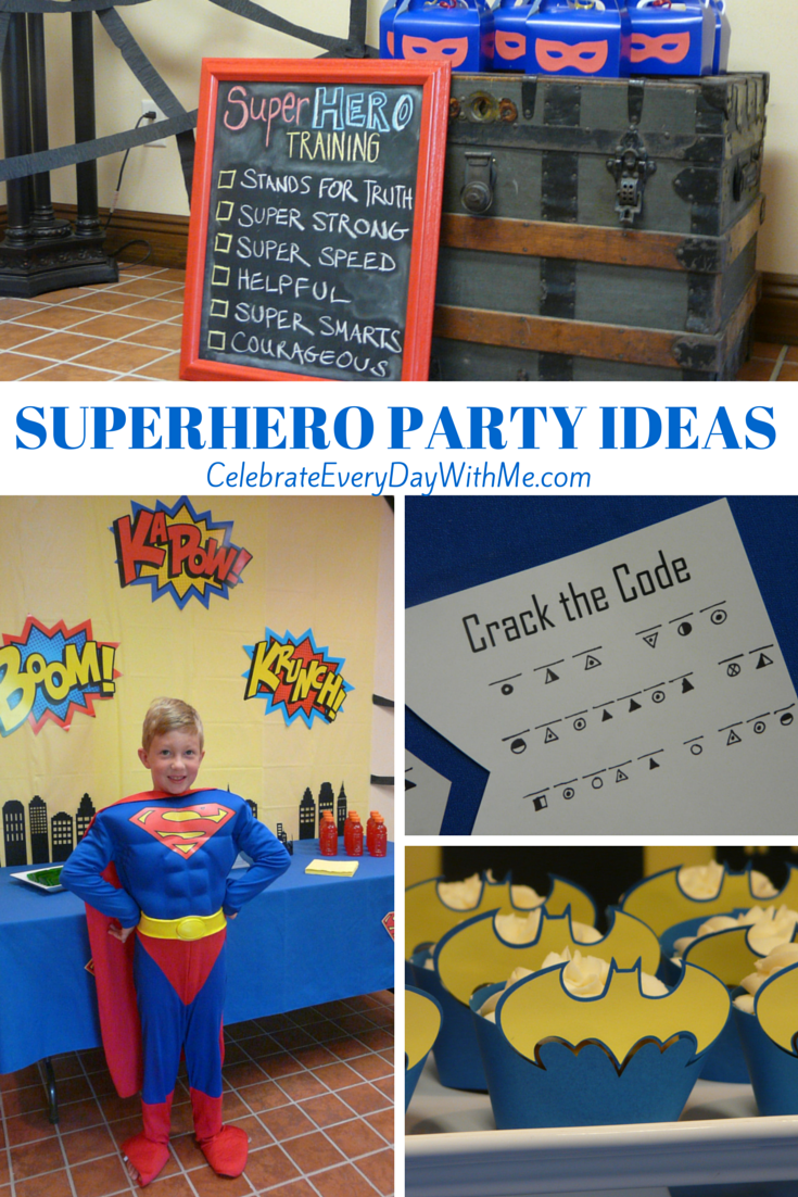 Our Superhero Party