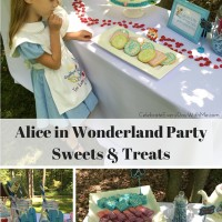 Alice in Wonderland Party Sweets & Treats
