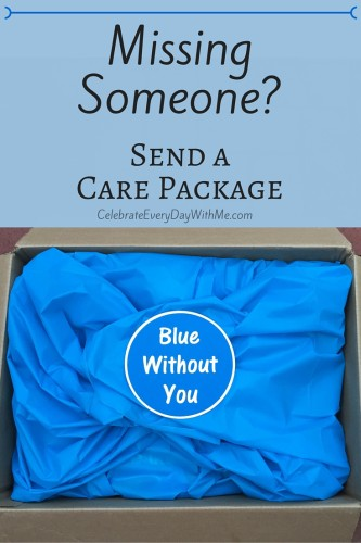 -Blue Without You- Care Package