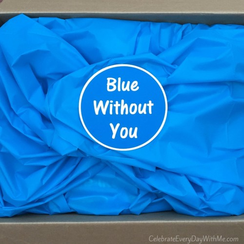 blue without you - care package