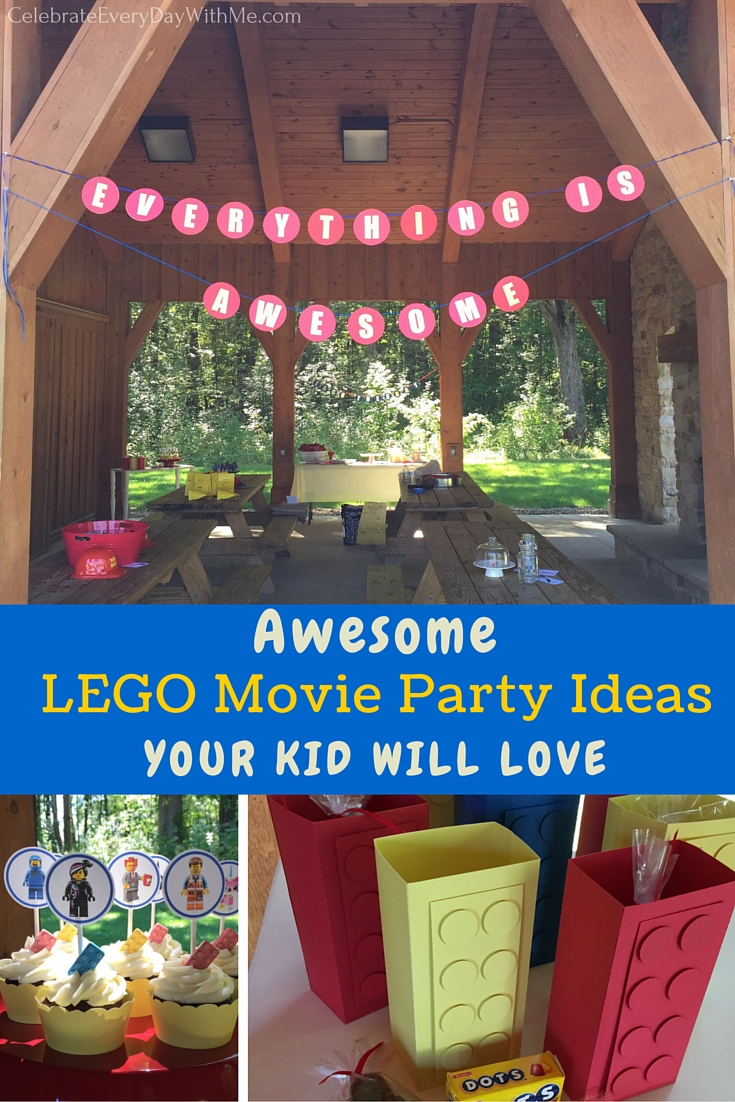AWESOME Lego Movie Party Ideas Your Kid Will Love